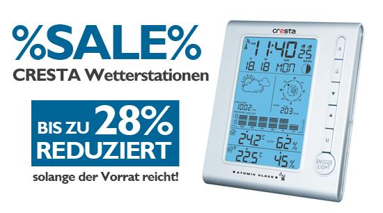 Ausverkauf Cresta Wetterstationen